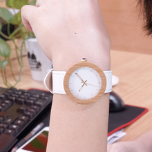 Brand 2017 BOBO BIRD Watch Women Bamboo Wood Watches Montre Femme Lady Quartz Wristwatch relogio feminino C-J27