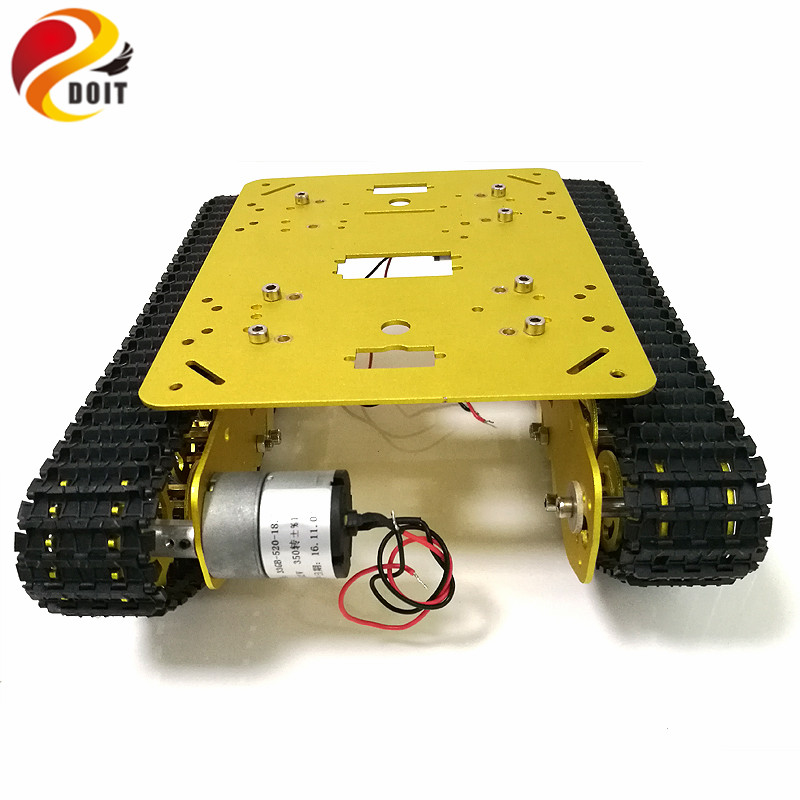 Parts & Accessories Remote Control Toys Driving Wheel Capterpillar Track Bearing Wheel Pedrail To Diy Robot Tank Chassis Tracked Robotic Model Rc Toy For Arduino