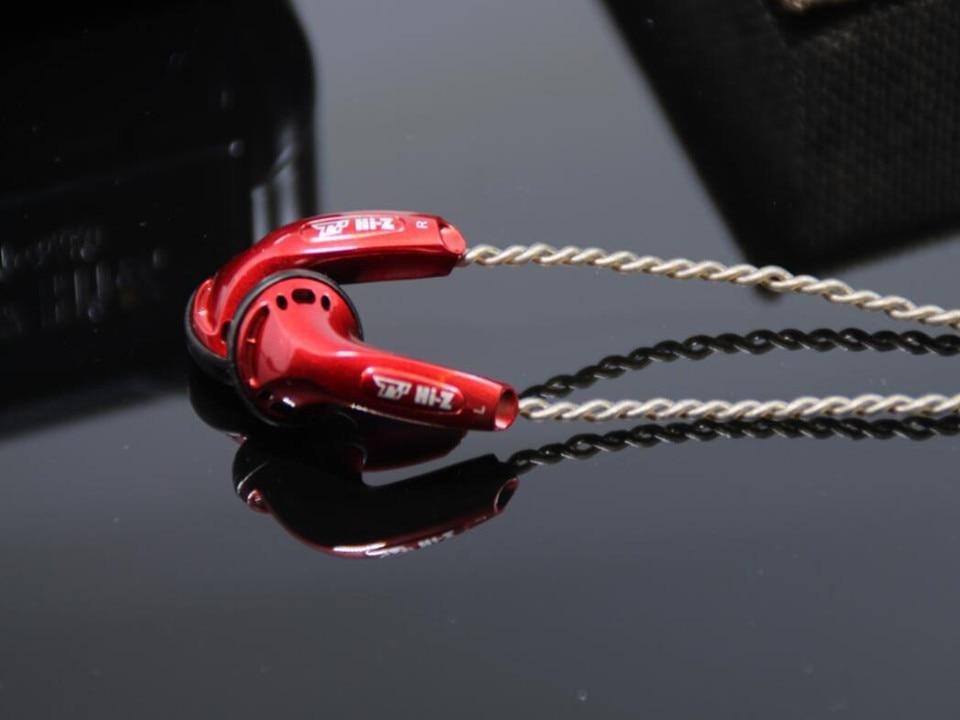 bilder für TY Hallo-Z HP-650 650Ohm Hohe Impedanz HiFi Audiophile Earbuds Flach Kopfhörer