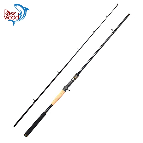 RoseWood High Quality 2 1m 2 4m Carbon Casting H XH Action Baitcasting Fishing Rod 2