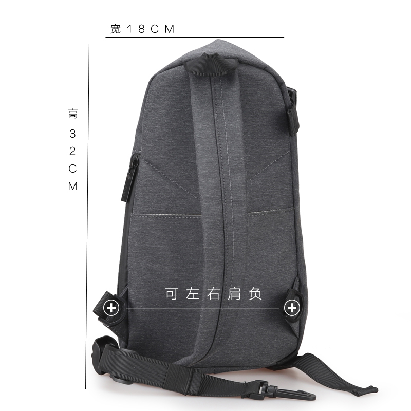 Image 3 - FYUZE New sling bag men crossbody bags for Male Single shoulder bag Anti theft bags Waterproof Casual mini Travel Pouch-in Waist Packs from Luggage & Bags