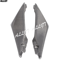 Carbon Fiber Gas Tank Side Fairing Panel Cowl For SUZUKI GSXR1000 05 06 2005 2006 K5