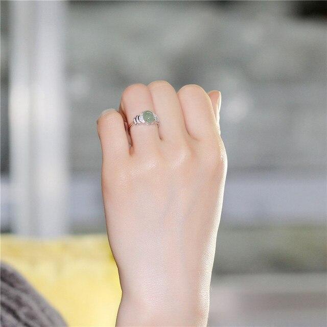 brixini.com - The Oval Jade Bead Rings