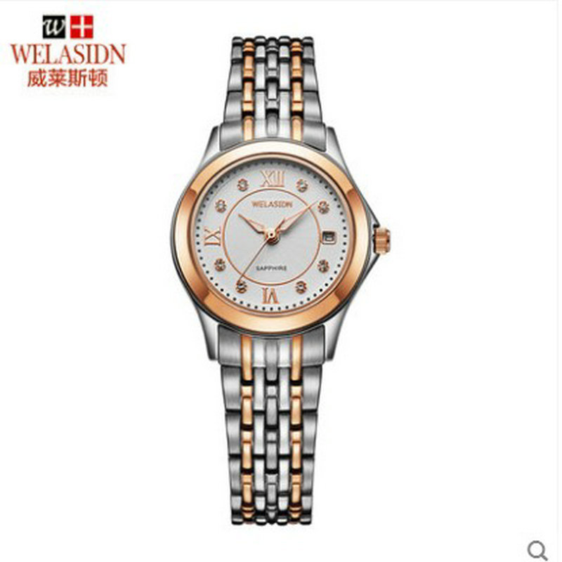 Men font b Quartz b font Stainless Steel lovers waterproof watch relogio masculino hombre Business Wristwatches