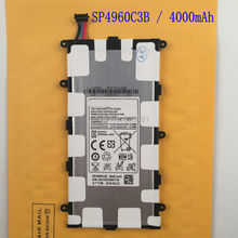 For Samsung Galaxy Tab 2 7.0 P3100 P6200 P3110 ,Tab 7.0 Plus SP4960C3B (14.8Wh) 4000mAh New Original Replacement Battery