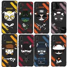 MA rainbow six siege Phone Case Cover For Huawei P8 P9 lite 2017 P10 P20 P30 Lite Honor 6X 7X 8X 9 Mate 10 20 lite pro Case цена