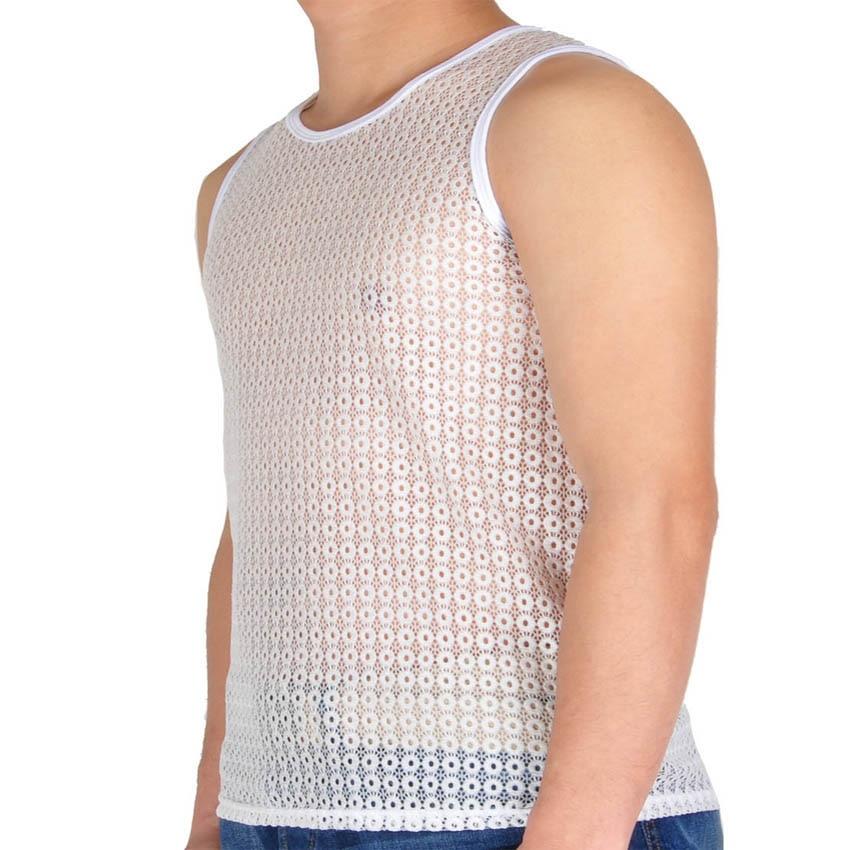 Chaleur titulaires Mens thermique sous-vêtements manches courtes gilet blanc gris anthracite