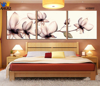 Free Shipping Hot Sell 3 Panels Modern Wall Painting Black And White Picture Home Decorative Art