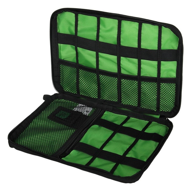 Organizer System Kit Case Storage Bag Digital Gadget Devices USB Date Cable Earphone Pen Travel Insert Portable high quality