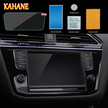 KAHANE 5.5″ Car Center Console LCD Screen Sticker GPS Navigation Screen Tempered Steel Protective Film FOR VW Tiguan MK2 2016-