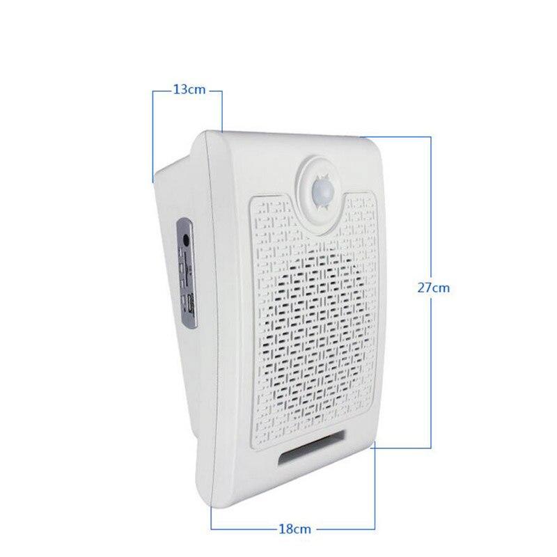 WT01 Scream altavoz PIR infrarrojos sensor de movimiento tarjeta SD reproductor de audio para casa embrujada efecto de sonido especial 10 W - 3
