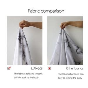 Image 4 - LIANGQI cortina de ducha gruesa con borla étnica, herramientas de baño, partición impermeable, cortina colgante de alta calidad, decoración del hogar