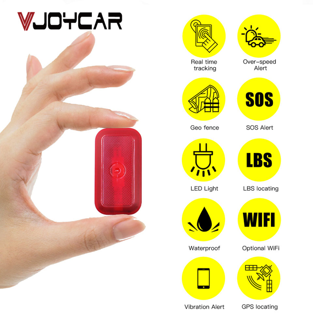 Mini GPS Tracker For Dogs Children - Bikes - Bags Waterproof Tracking Locator  - Standby 7 Days FREE Software APP Lifetime 2