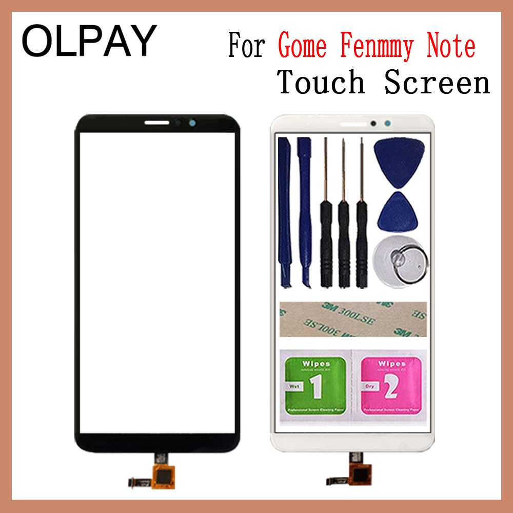 OLPAY 5.99 Inch For Gome Fenmmy Note C72 2018X38A Touch Screen Glass Digitizer Panel Front Glass Lens Sensor Replace