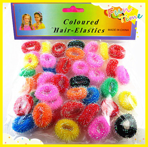 45pcs/lot Colorful Child Kids Hair Holders Cute Rubber Bands Hair Elastics Accessories Lovely Girl's Charms Tie Gum 10pcs lot candy fluorescence colored hair holders high quality rubber bands hair elastics accessories girl women tie gum