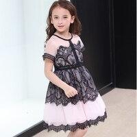 kids girls lace dresses teenage girls princess dress girls costumes teen party dress size 4 5 6 7 8 9 10 11 12 13 14 15 years