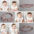 2016 Baby girl pano headband crianças flor headbands acessórios de cabelo cheveux bandeau chic bebes filles acessorio parágrafos cabelo