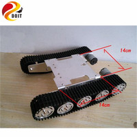 Update Version Tank Car Chassis Crawler Intelligent Diy Robot Electronic Toy Development Kit Tractor Toy