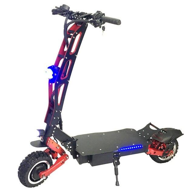 FLJ Электрический скутер для взрослых с 3200 Вт/60 В Электродвигатель электрический скутер внедорожный большое колесо fat tire скутеры