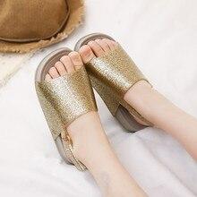 Mini Melissa 2019 New Children Shoes Sandals for Girls Casual Slip Wear-resistant Beach
