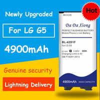Il trasporto libero 4900mAh BL-42D1F Batteria per lg G5 H850 H820 H830 H831 H840 H868 H860N H860 LS992 US992 F700L f700S F700k VS987