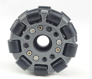 Omni wheel 4 inch 100mm double nylon rubber robot competition wheelOmni wheel 4 inch 100mm double nylon rubber robot competition wheel
