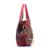 Bolsos de diseño de Alta Calidad de Cuero de LA PU Ahueca Hacia Fuera el Estampado de flores de Lentejuelas Borla Femenina Bolsas Bolso de la Mujer Bolsas de Hombro