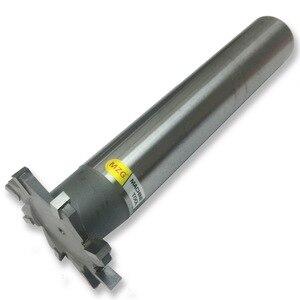 Image 4 - MZG Schneiden Gerade Zahn 16 30mm T Slot Fräser Schweißen Rand Typ Wolfram Stahl Seite fräser Nut Verarbeitung