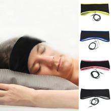 2017 Newest 3.5mm Anti-snore Wired Comfortable Thin Sweatband Stereo Sports Sleep Headphone