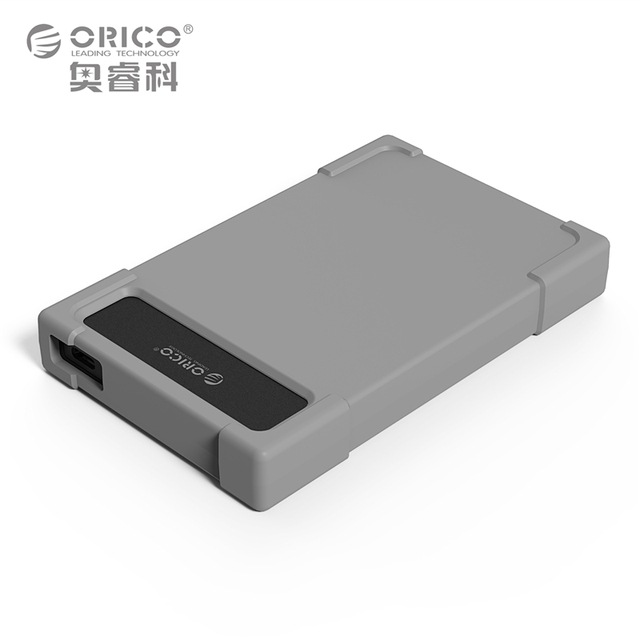 Type-C Hard Drive Adapter ORICO 28UTS-C3 2.5 inch  HDD SATA Adapter Tool Free HDD Encloxure with Leather (Not including HDD)