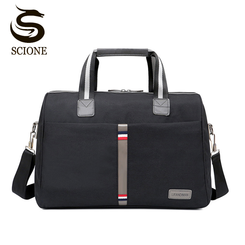 Hot Fashion Foldable Portable Shoulder Bag Waterproof Travel Bag Men And Women Travel Luggage Large Capacity Multifunction Tote