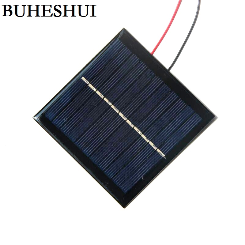 Buheshui 5 5v 1w Epoxy Solar Panels Cable Small Solar