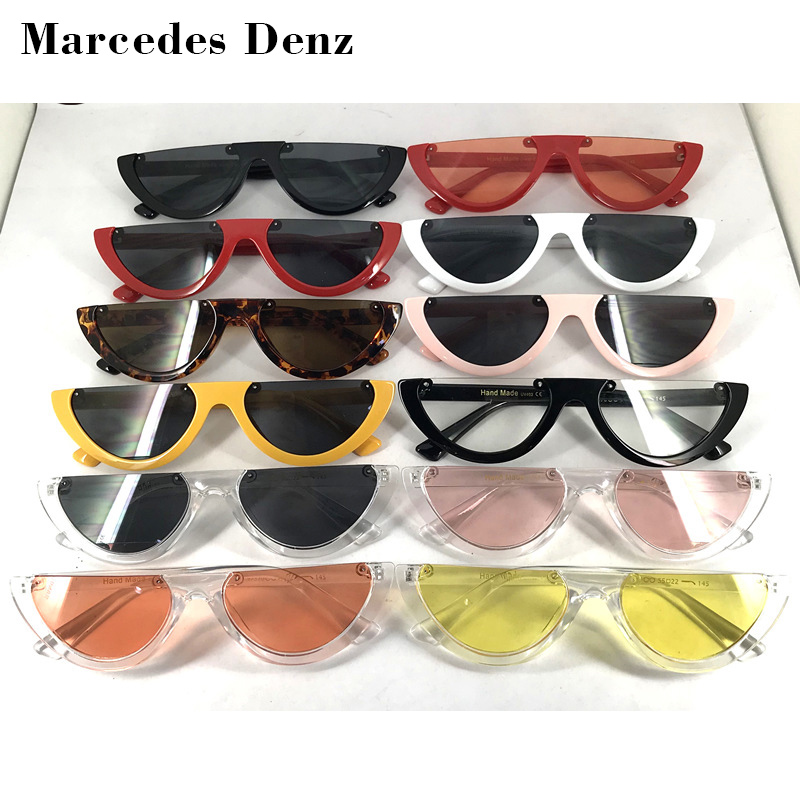 6f1fe08602 Bold Retro Oval Mod Thick Frame Sunglasses Clout Goggles with Round    Sonnenbrillen zeroUV