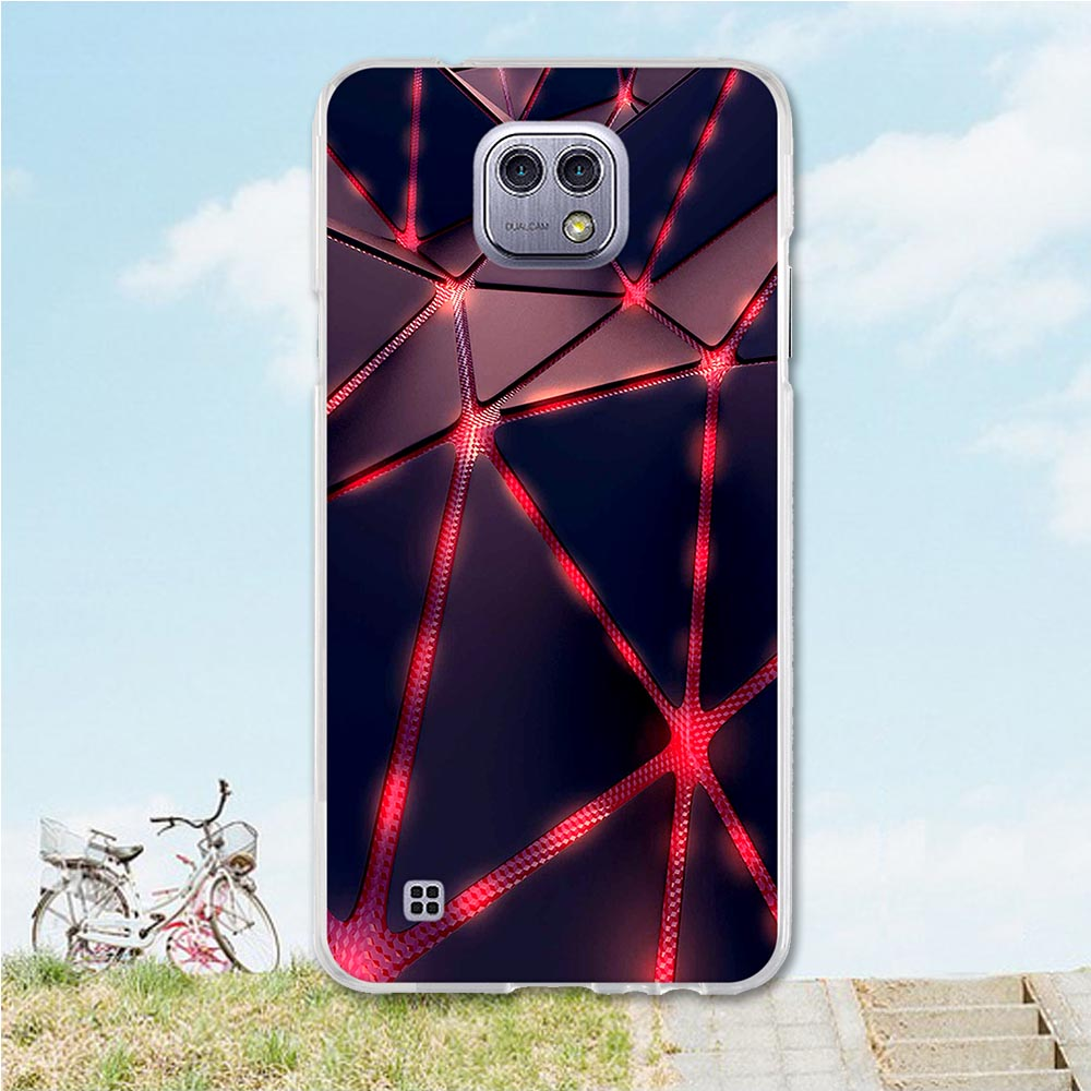 Мягкие смартфон Чехлы для lg x cam k580 K580Y Xcam K580 K580DS 5,2 дюймов Чехлы красочные кожи для lg x cam k580 Корпус сумка
