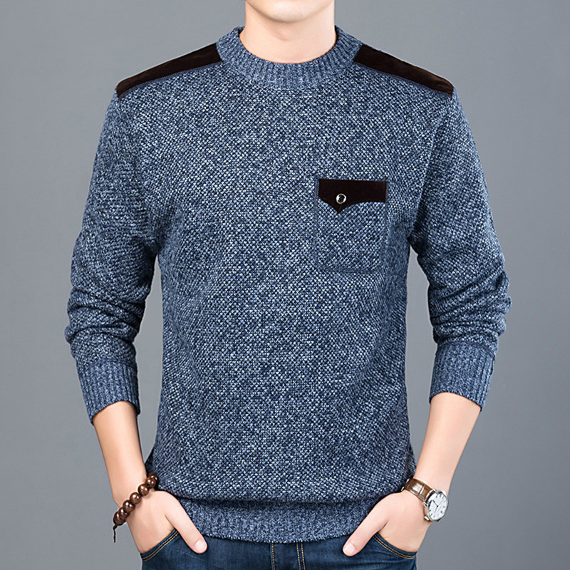 Zogaa 2019 New Fashion Brand Sweater For Men Pullovers Slim Fit Jumpers Knitwear O-Neck Autumn Korean Style Casual Clothing Male