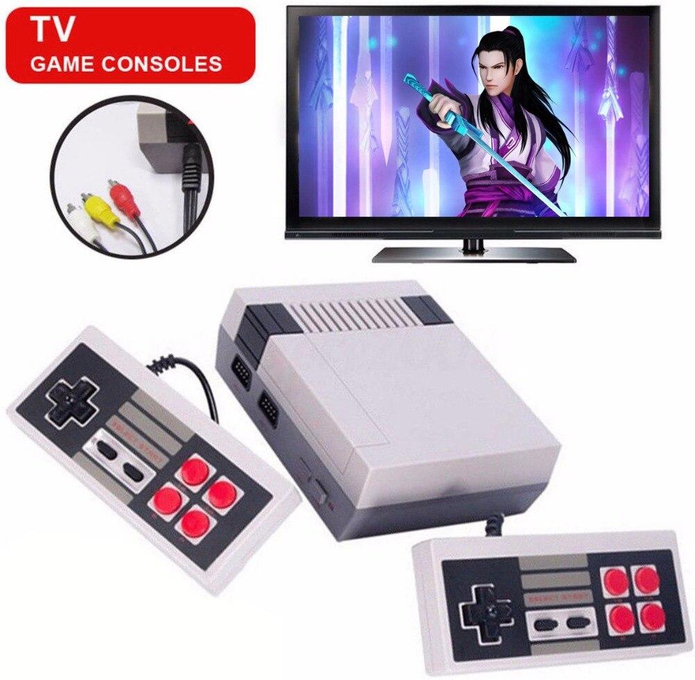 2018 NEUE HD HDMI/AV Ausgang Mini TV Handheld-konsole Video Spielkonsole mit 500 Verschiedene NES spiele Eingebaute für 4 Karat TV PAL