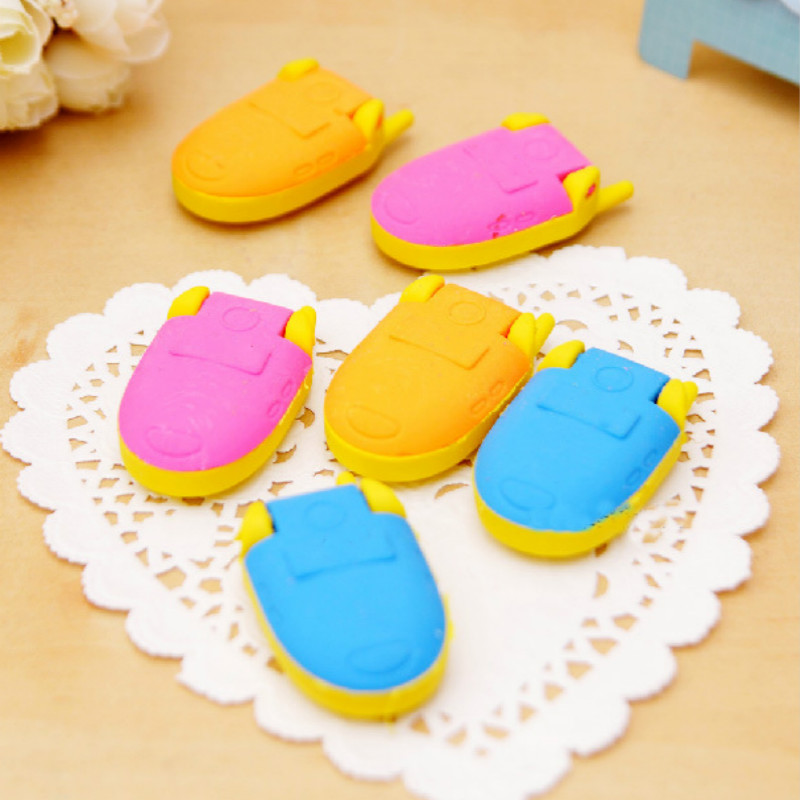 1 Pcs Cute Valentine's Day Gifts/stationery Mini Mobile Phone Style Rubber Pencil Erasers School Supplies Prize Gifts