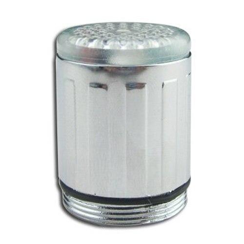 Newest Arrive Water Glow LED Faucet Light Temperature Sensor grow 3 colors RC F03