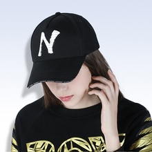 2019 springtime new washed cotton Unisex baseballl cap Outdoor sun protection hat snapback N Letter printed hip hop
