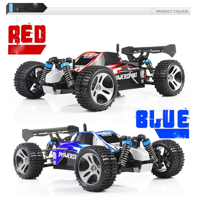 WL Toys A959 RC Rock Climbing Racing Car Remote Control 40-60km/hour Electric Cars Toys Cross-Country Desert Car Toy Kids Gift wl toy electric car rc cars 4wd trucks high speed gift for kids l969 l212 souptoys