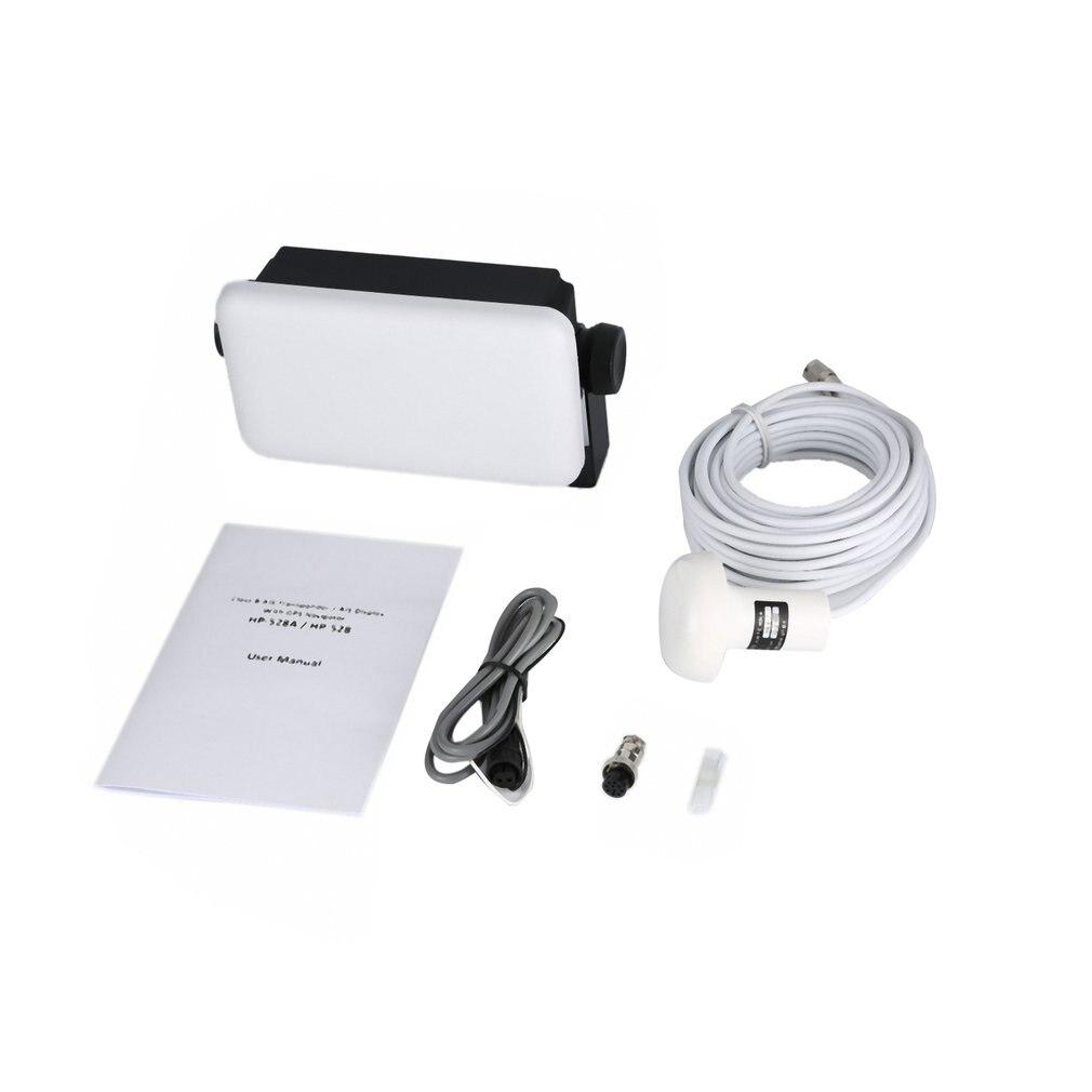 4.3 pouces double bande LCD émetteur-récepteur étanche Marine bidirectionnelle Radio talkie-walkie HP528 GPS récepteur