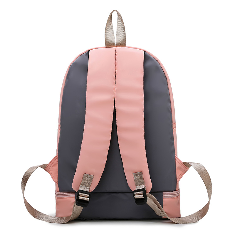 Image 2 - Fashion New Large Capacity Women Gym Backpack High Quality Waterproof Oxford Sprots Backpack Pretty Style Backpack Rucksack SACBackpacks   -