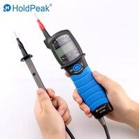 HoldPeak Auto range LCD 12 690V AC/DC Voltage Tester Phase Rotation Test Pen Type digital multimeter