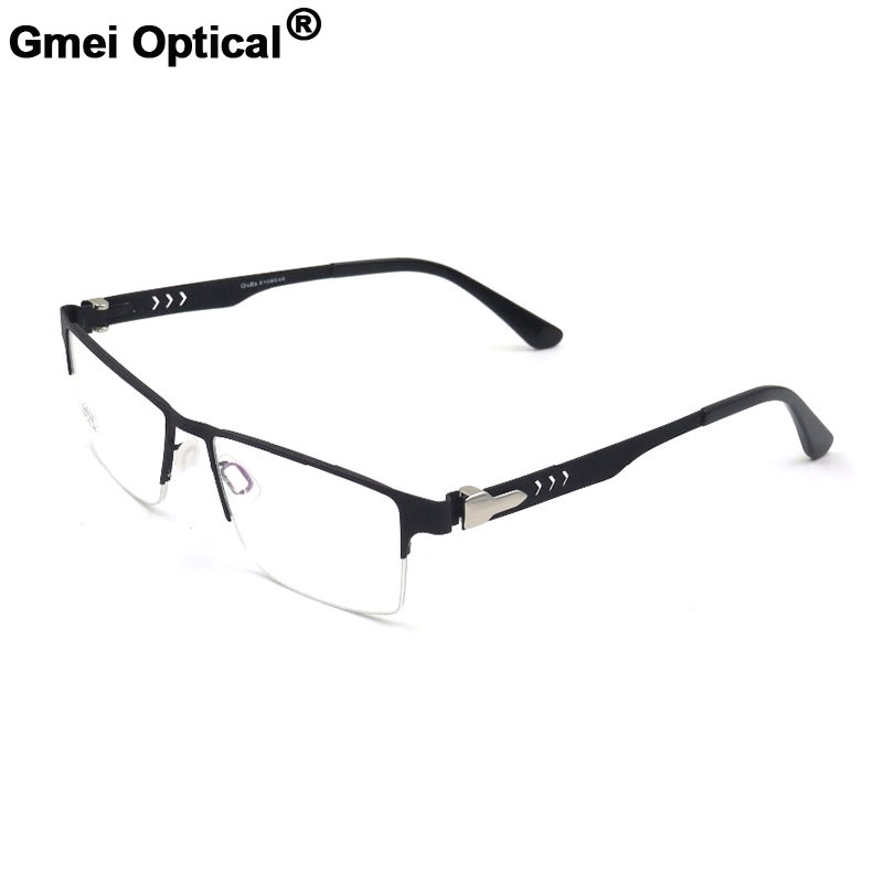 3349f7cbda Detail Feedback Questions about Gmei Optical Concise Titanium Alloy  Eyeglasses Frame Optical Semi Rimless Alloy Eyewear For Men and Women S6703  on ...