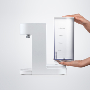 Image 3 - Viomi desktop dispensador de água 2l aquecimento instantâneo dispensador de água quente barra de leite do bebê parceiro aquecedor beber