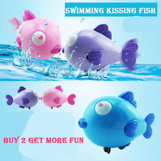 Classic Spring Toy For Newborn Children Gift Cute Cartoon Animal Swinging Fish Wind Up Toys
