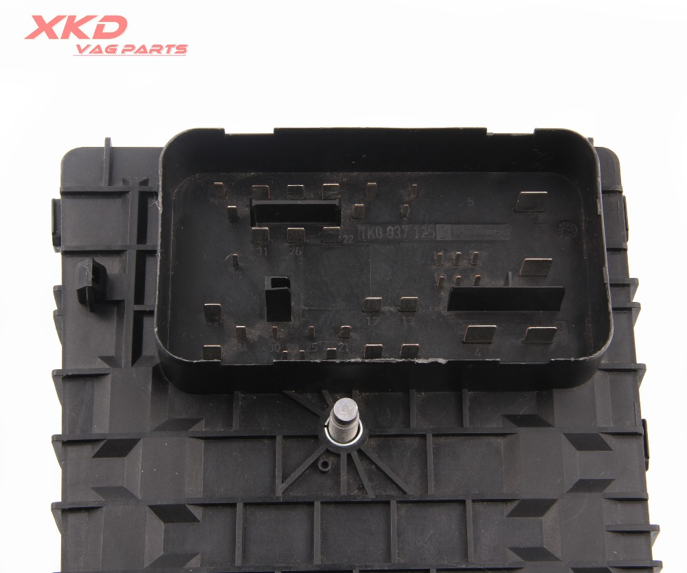 small resolution of relay fuse box board fit for vw jetta golf mk5 eos rabbit audi a3 seat skoda 1k0937125d c in fuses from automobiles motorcycles on aliexpress com