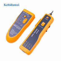 kebidumei LAN Network Cable Tester Cat5 Cat6 RJ45 UTP STP Line Finder Telephone Wire Tracker Tracer Diagnose Tone Tool Kit