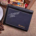 2016 High Quality PU Men Wallet New Arrival PU Leather Wallets Fashion  Wholesale Male Walet ZC063
