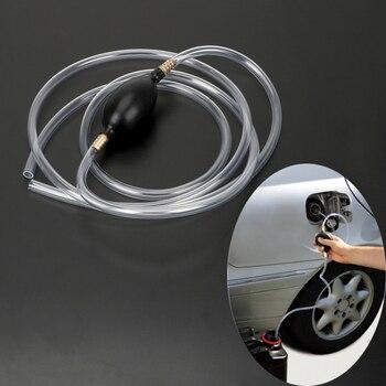 Leepee auto accessories pvc pipe petrol diesel liquid manual pump syphon car fuel gas pump water oil transfer pump